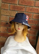 AUSTRALIA FLAG BUCKET HAT Adult Australian Day Aussie Summer Sun Cap
