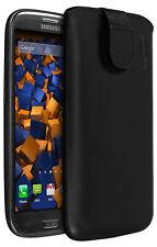 mumbi Leder Tasche für Samsung Galaxy S3 Etui Hülle Case Cover Bumper Schutz