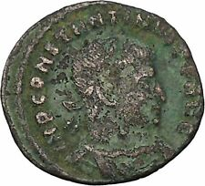 Constantine I the Great 313AD Ancient Roman Coin Sol  Sun God Cult  i45992