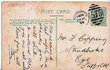 Genealogy Postcard - Ancestor History - Copping - Eye - Suffolk  U2529