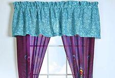 "FEATHERS 'PEACOCK' Window Treatment VALANCE 15""x 84"""