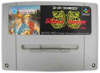 "NINTENDO SUPER FAMICOM "" RETURN OF DOUBLE DRAGON "" SNES SFC JAPAN"