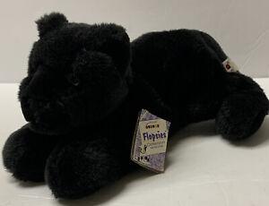 Aurora Flopsies Pals Jet Black Panther Wildcat Bean Filled Animals Plush Toy