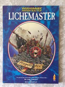 Warhammer Fantasy Roleplay Lichemaster