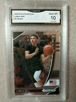 2020 LAMELO BALL PANINI PRIZM DRAFT PICKS #3 GEM MINT 10 ROOKIE CARD RC HORNETS
