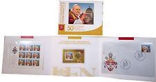2013 Vaticano Folder UFFICIALE del 50° Morte del Papa Giovanni XXIII IN CARNET