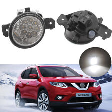 2X LED Front Bumper Light Fog Lamp for Nissan X-trail Rogue 2014 2015 2016 Pair