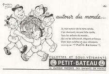 ▬► Publicité French Print advertising - Béatrice Mallet - PETIT-BATEAU