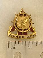 Authentic US Army Transportation Corps Unit DI DUI Crest Insignia 22M