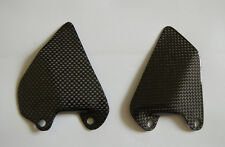 Ducati 748 916 996 998 Rearset Foot Heel Guard Plate Carbon Fiber