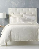Hotel Collection Trousseau White Full Queen Duvet Comforter Cover