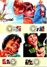 AUSTRALIA - 1987 'AUSSIE KIDS' Set of 4 Maxi Cards [B2339]