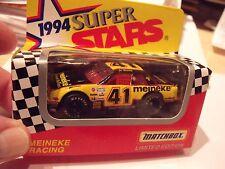 Matchbox 1994 Super Stars Series II #41 MEINEKE RACING, BLACK & YELLOWNEW IN BOX