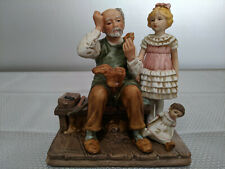 """Norman Rockwell """"The Cobbler"""" Porcelain Figurine Norman Rockwell Museum 1979"""