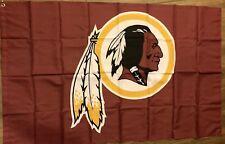 Washington Redskins 3x5 Flag Logo Banner Nfl Football Man Cave