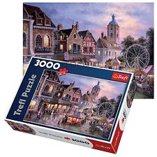 Trefl 3000 Piece Adult Large Funfair Ground Park Fun Floor Jigsaw Puzzle NEW