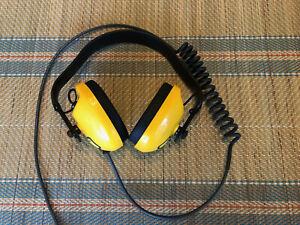 LS PELSO WATERPROOF HEADPHONES FOR USE WITH MINELAB EQUINOX600-800METAL DETECTOR