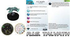 Heroclix 1x x1 R.I.S. Talvath Star Trek Tactics II NM with card