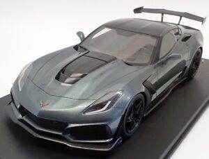 Top Speed 1/18 Scale TS0148 - 2018 Chevrolet Corvette C7 ZR-1 - Met Grey