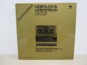 LP / RUDOLF BUCHBINDER & RAINER KÜCHL / LIEBESLEID & LIEBESFREUD / AUSTRIA /