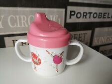 Cath Kidston sipper lidded drinking Cup Ballerina Melamine perfect