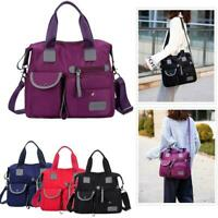 Women Ladies Handbag Waterproof Nylon Large Capacity Crossbody Shoulder Bags