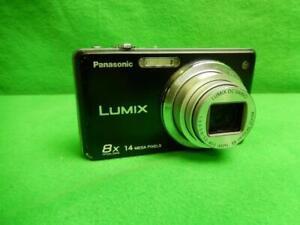 Panasonic LUMIX DMC-FH22 14.1MP Digital Camera - Black w/ Battery and Charger