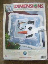 Dimensions Winter Theme SNOWFLAKE PALS Needlepoint Kit #9138
