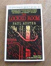 THE LOCKED ROOM by Paul Auster - 1st Penguin Printing 1988 - New York Trilogy