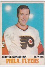 1970-71 O PEE CHEE HOCKEY GEORGE SWARBRICK #82 FLYERS EX *61758