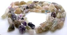 TEN STRAND FLUORITE NUGGET CRYSTAL NATURAL BEAD STRANDS CLOSEOUT WHOLESALE CRS6