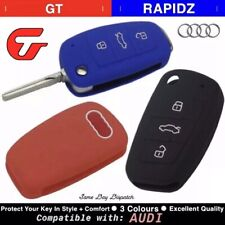 Key Cover Case - Audi A1 A3 Q3 Q3 Q7 R8 A6L TT etc Protective Quality Silicone