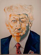 President Donald Trump Original Portrait - MAGA 2020
