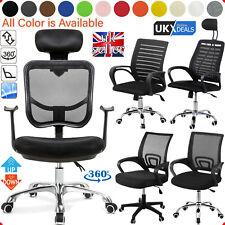 Adjustable Ergonomic Executive Office Mesh Chair Computer Desk Swivel High Chair