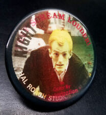 NIGHT OF THE LIVING DEAD ZOMBIE 1980s PROMO LENTICULAR FLICKER PINBACK BUTTON