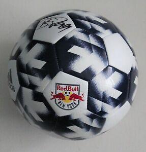 Bradley Wright Phillips New York Red Bulls Signed Soccer Ball w/COA MLS Size 5