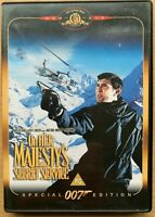 On Her Majesty's Secret Service DVD 1969 James Bond Classic Special Edition