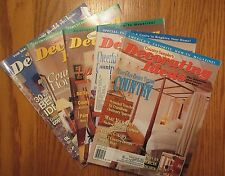 5 Country Sampler Decorating Ideas How To Magazines ~ Crafts, Folk Art, 1994-95
