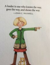 Mary Engelbreit Handmade Magnets -A Leader Is One Who Knows The Way