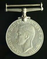 Original UK WWII 1939-45 Defence Medal #990