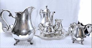 Webster Wilcox Silver Plated American Rose , Joanne & Rochelle Collection