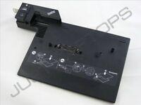 IBM Lenovo ThinkPad T400 Advanced Dock Docking Station Port Replicator 2 Keys