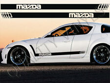 RS28 MAZDA RACING STRIPES  2 3 5 6 7 8 RX7 RX8 MX MX5 323 GRAPHIC DECAL STICKERS