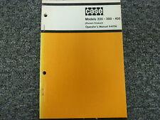 Case Poclain 220 300 400 Excavator Owner Operator Maintenance Manual 9-8730