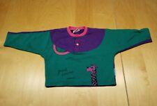 Langarmshirt, grün/lila, Jungen, Mädchen, Gr. 80/86