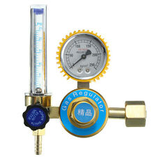 Argon Gas Mig Tig Flow Meter Welding Weld Regulator Gauge Welder CGA580 FITS HOT