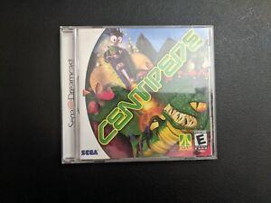 Centipede Atari Sega Dreamcast DC MINT condition COMPLETE