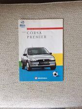 VAUXHALL CORSA PREMIER SPECIAL EDITION 1996