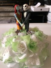 Jack & Sally Nightmare before Christmas Wedding Cake topper  One of A Kind #4