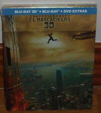EL RASCACIELOS BLU-RAY 3D+BLU-RAY+BR EXTRAS NUEVO STEELBOOK (SIN ABRIR) R2
